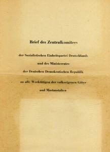 Brief-des-Zentralkomitees